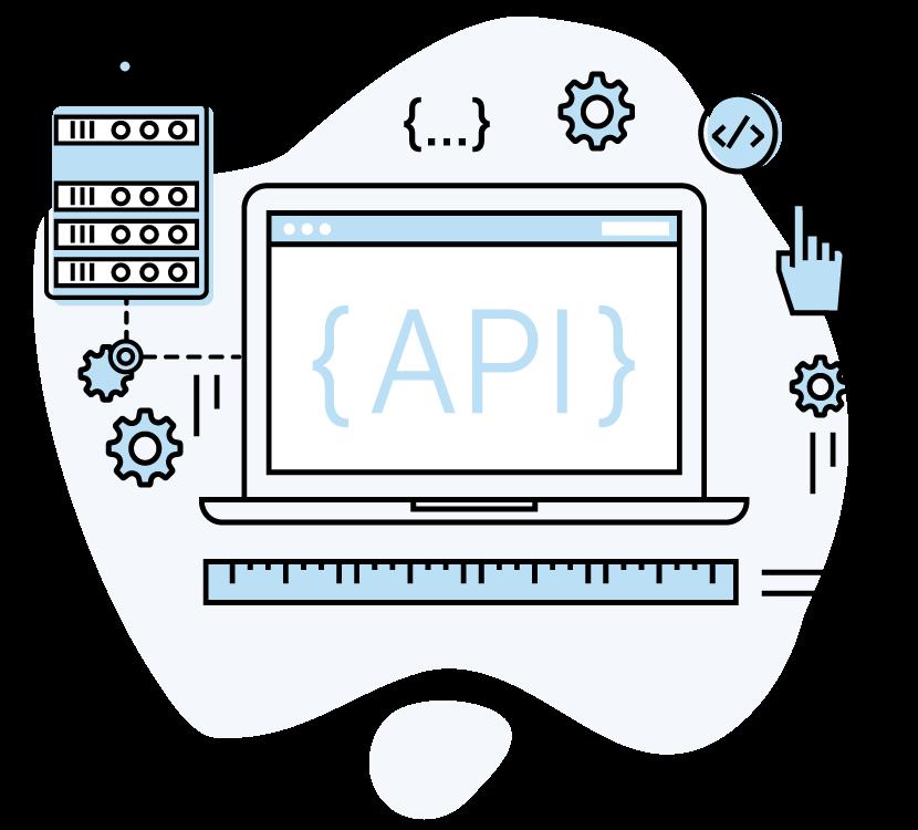 SiliconExpert API Illustration blue bubble